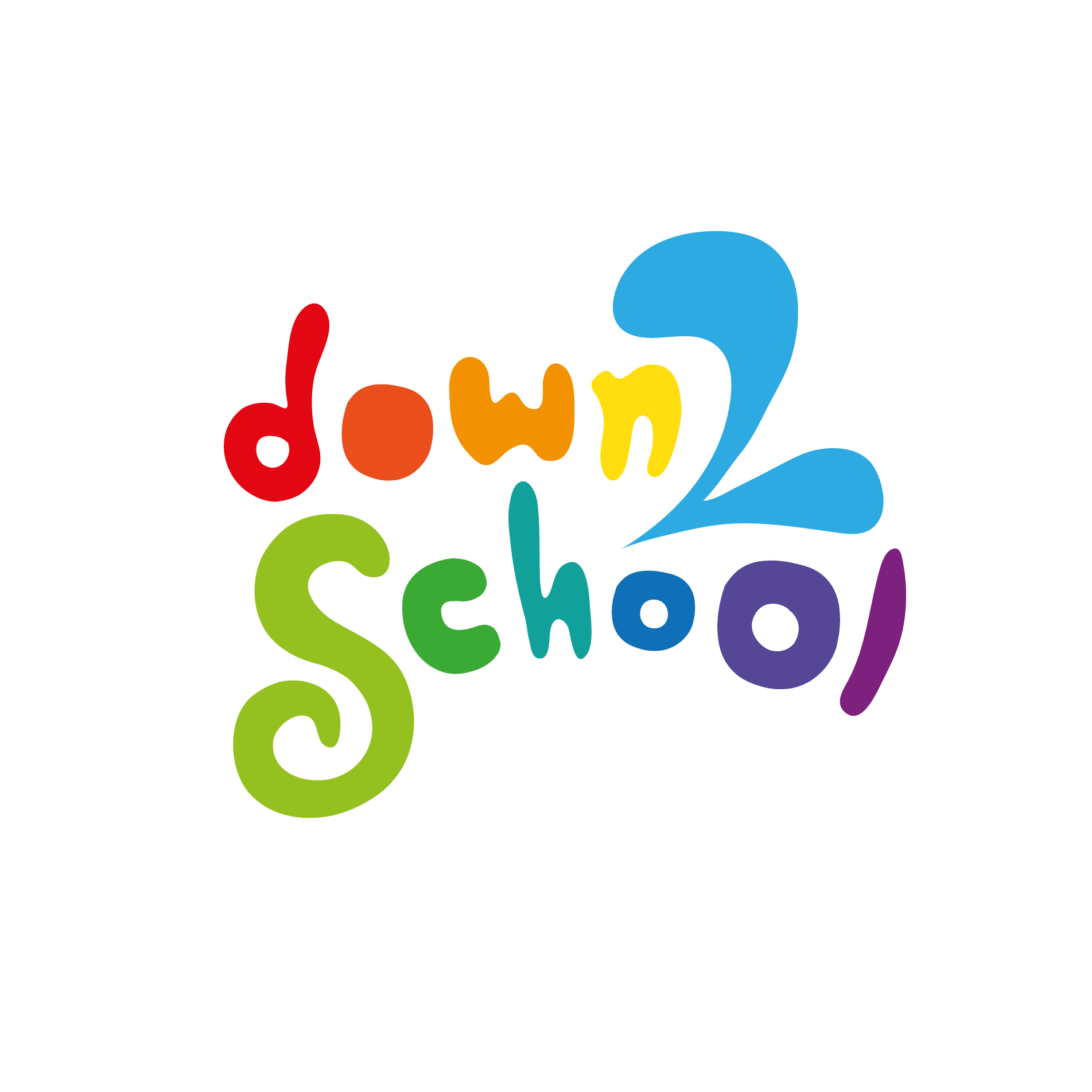 Down 2 School Logo